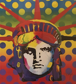 Liberty 2003 Limited Edition Print by Peter Max