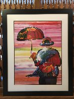 Umbrella Man III 2000 Limited Edition Print by Peter Max - 1