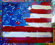 Flag with a Heart 1988 Limited Edition Print by Peter Max - 0