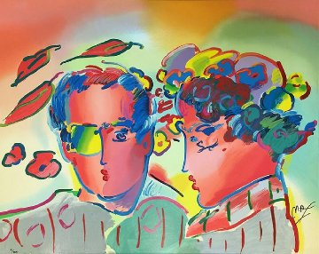 Zero in Love 1990 Limited Edition Print by Peter Max