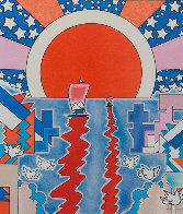 Sailing New Worlds 1976 Limited Edition Print by Peter Max - 1