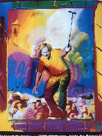 Jack Nicklaus HS by Jack 1986 Limited Edition Print by Peter Max - 2