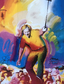 Jack Nicklaus HS by Jack 1986 Limited Edition Print by Peter Max