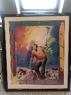 Jack Nicklaus HS by Jack 1986 Limited Edition Print by Peter Max - 1