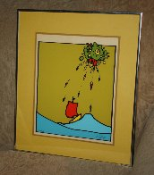 Little Sailboat AP 1974 (Vingage) Limited Edition Print by Peter Max - 1