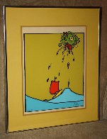 Little Sailboat AP 1974 (Vingage) Limited Edition Print by Peter Max - 8