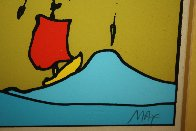 Little Sailboat AP 1974 (Vingage) Limited Edition Print by Peter Max - 7