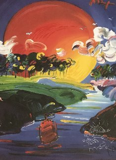 Without Borders 2000 Works on Paper (not prints) - Peter Max