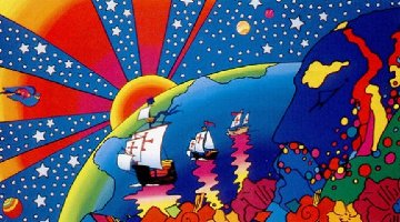 Discovery 1992 Limited Edition Print - Peter Max