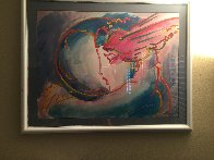 I Love the World 1996 Limited Edition Print by Peter Max - 4