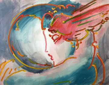 I Love the World 1996 Limited Edition Print - Peter Max