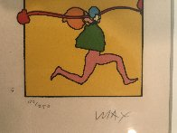 Entering Yellow  1973 (Vintage) Limited Edition Print by Peter Max - 1