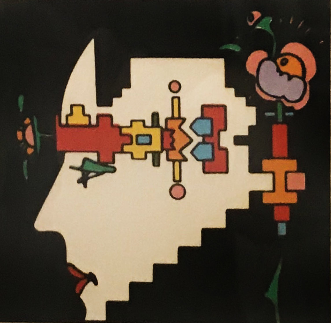 Geometric Man 1973 (Vintage) Limited Edition Print by Peter Max