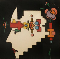 Geometric Man 1973 (Vintage) Limited Edition Print by Peter Max - 0