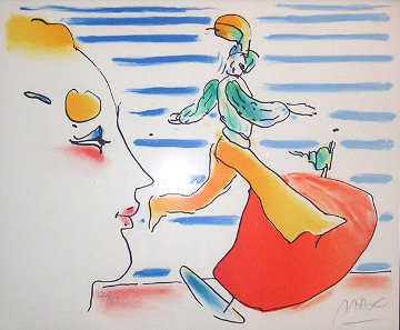 Red Sail 1981 Limited Edition Print by Peter Max
