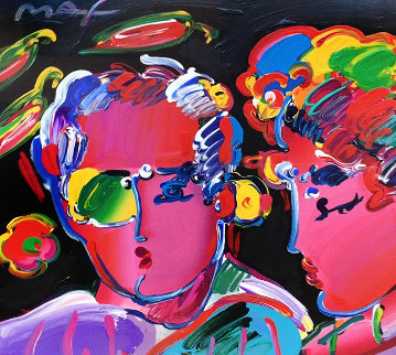 Peter Max Zero in Love Retro III 1997 Limited Edition Print - Peter Max