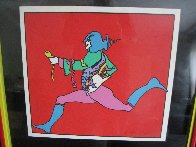 Atlantic Runner Limited Edition Print by Peter Max - 2