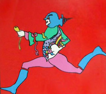 Atantic Runner 1972 Limited Edition Print - Peter Max