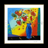 Vase of Flowers 2011 Limited Edition Print by Peter Max - 1