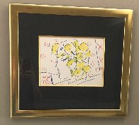 Untitled  Portrait 20x22 Works on Paper (not prints) by Peter Max - 1