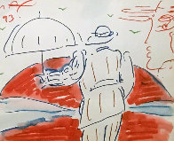 Untitled 1993 20x22 Works on Paper (not prints) by Peter Max - 0