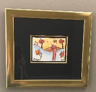 Untitled 1995 15x16 Works on Paper (not prints) by Peter Max - 1