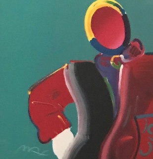 Dega Man 1990 Limited Edition Print - Peter Max