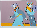 a Long Time Ago 1978 (vintage) Limited Edition Print - Peter Max