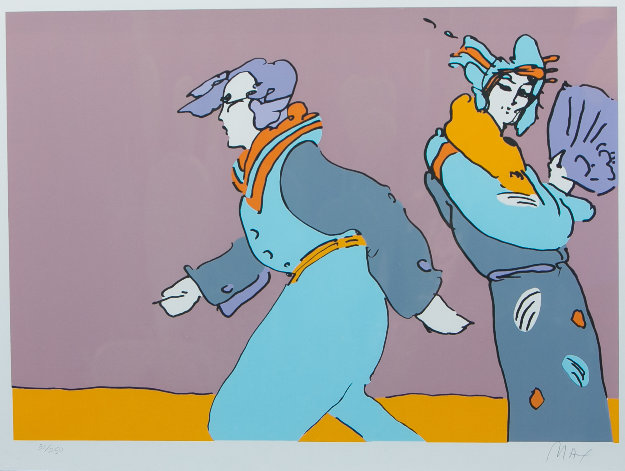 a Long Time Ago 1978 (vintage) Limited Edition Print by Peter Max