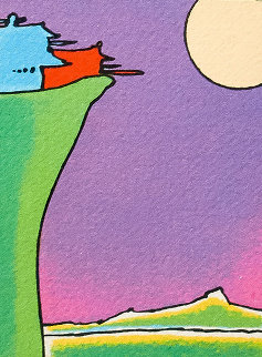 Cliff Dweller (Vintage) 1976 Limited Edition Print - Peter Max