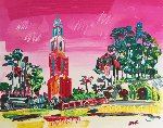Balboa Park Unique  Works on Paper (not prints) - Peter Max