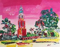 Balboa Park Unique  Works on Paper (not prints) by Peter Max - 0