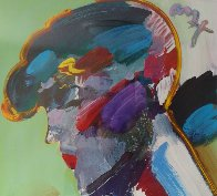 Palm Beach Lady Unique 2006 50x38 Huge  Works on Paper (not prints) by Peter Max - 4