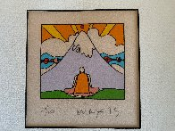 Sage By Mountain 1973 Limited Edition Print by Peter Max - 4