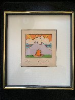 Sage By Mountain 1973 Limited Edition Print by Peter Max - 1