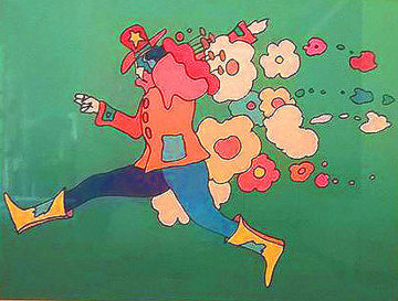Flower Jumper 1978 Limited Edition Print - Peter Max