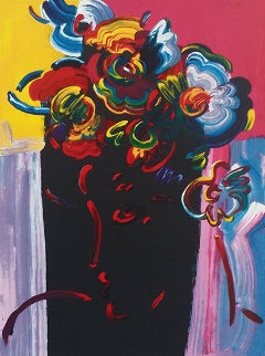 Roseville Profile 2000  Limited Edition Print by Peter Max