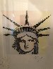 Liberty Head Remarqued  2015 Embellished Limited Edition Print by Peter Max - 3