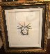 Liberty Head Remarqued  2015 Embellished Limited Edition Print by Peter Max - 1