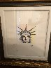Liberty Head Remarqued  2015 Embellished Limited Edition Print by Peter Max - 2