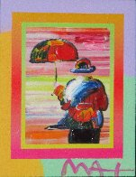 Umbrella Man on Blends Iconic Suite 2005 26x24 Works on Paper (not prints) by Peter Max - 6