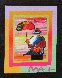 Umbrella Man on Blends Iconic Suite 2005 26x24 Works on Paper (not prints) by Peter Max - 4