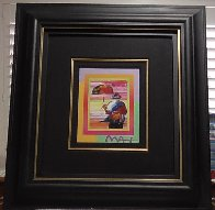 Umbrella Man on Blends Iconic Suite 2005 26x24 Works on Paper (not prints) by Peter Max - 5