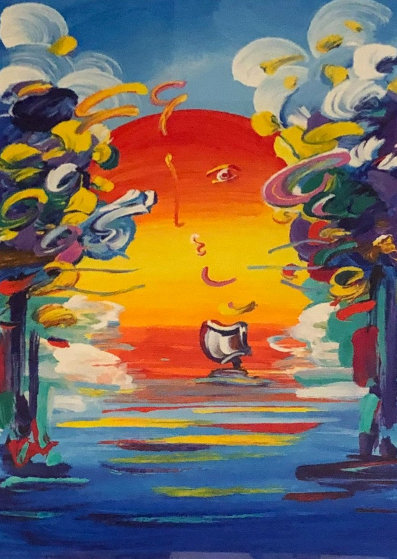 Better World 2016 Limited Edition Print by Peter Max
