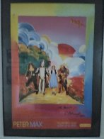 Yellow Brick Road 2000 Poster Limited Edition Print by Peter Max - 1