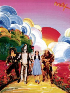 Yellow Brick Road 2000 Poster Limited Edition Print by Peter Max