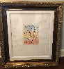 Umbrella Man 2015  Remarque Limited Edition Print by Peter Max - 4