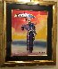 Umbrella Man With Cane 2001 Limited Edition Print by Peter Max - 1