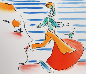 Red Sail 1981 Limited Edition Print - Peter Max