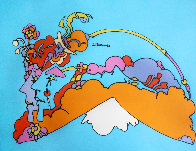 Infinity Watchers 1970 Limited Edition Print by Peter Max - 0